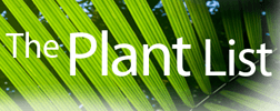 WCSP - World Checklist of Selected Plant Families